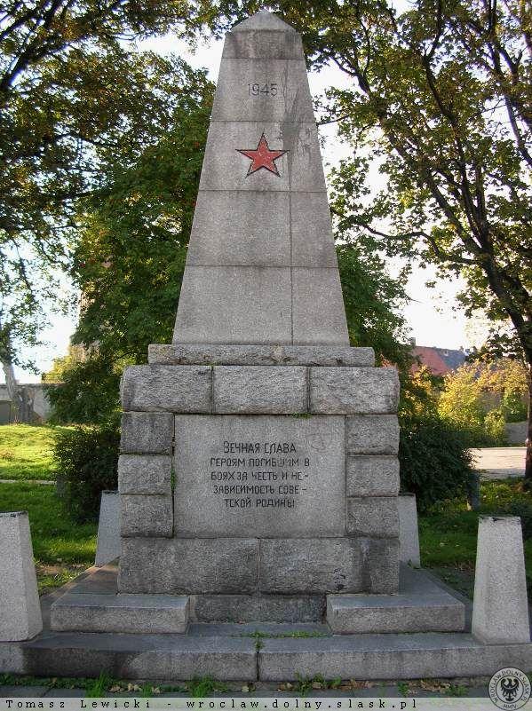 Pomnik Armii Czerwonej w Strzegomiu
