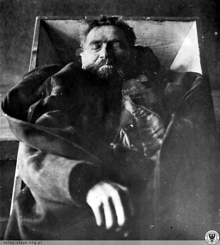 Karl Denke po samobójstwie