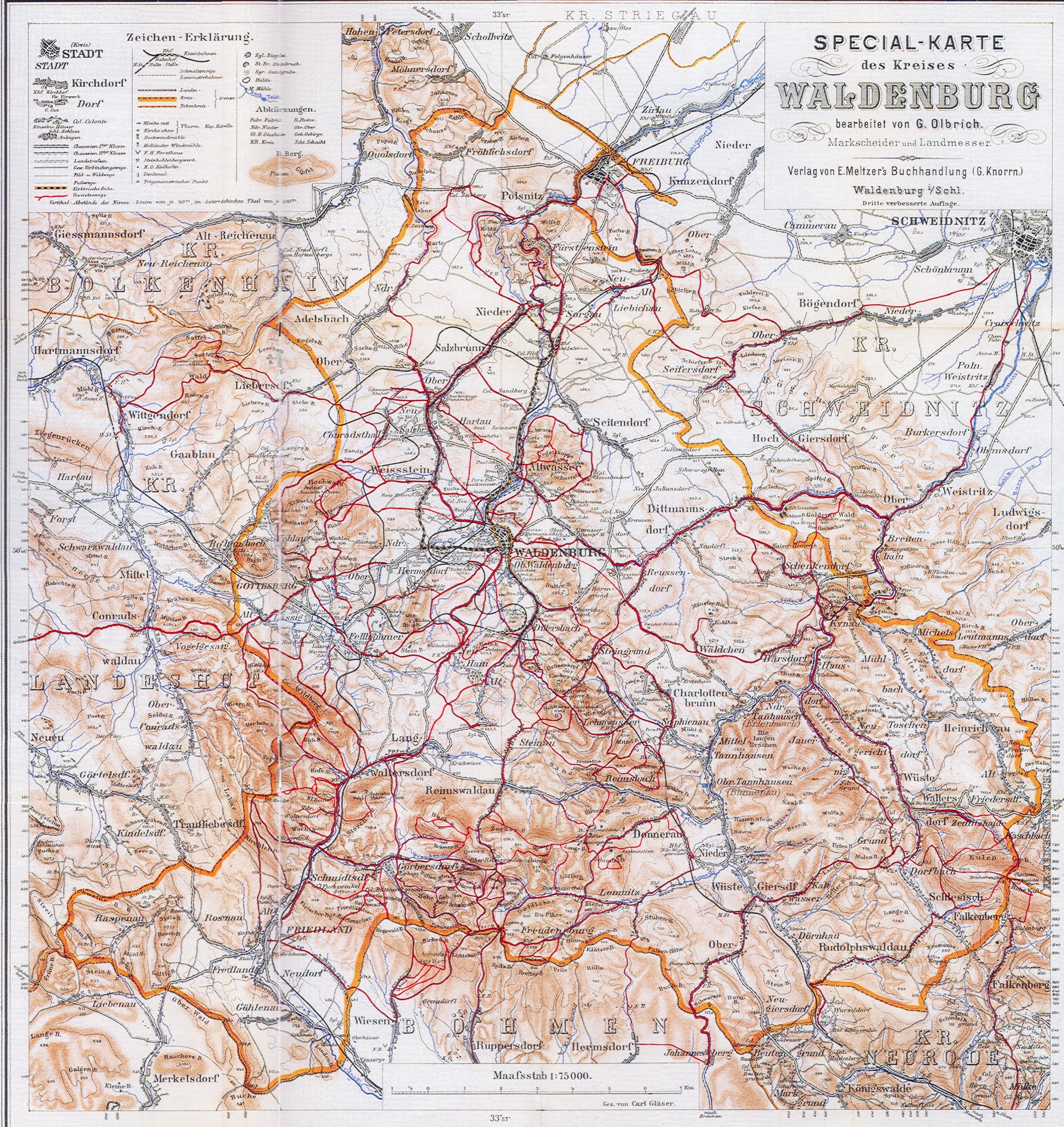 Mapy Regionu Walbrzych I Okolice Walbrzych Zdjecia