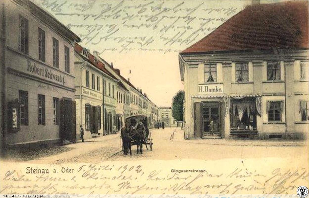ul. Głogowska, Ścinawa