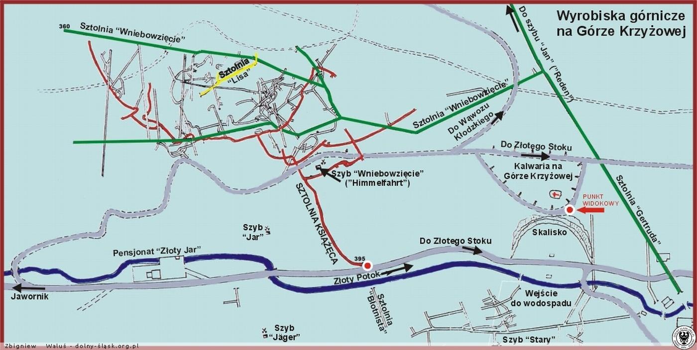Mapy I Plany Zlotego Stoku Zloty Stok Zdjecia