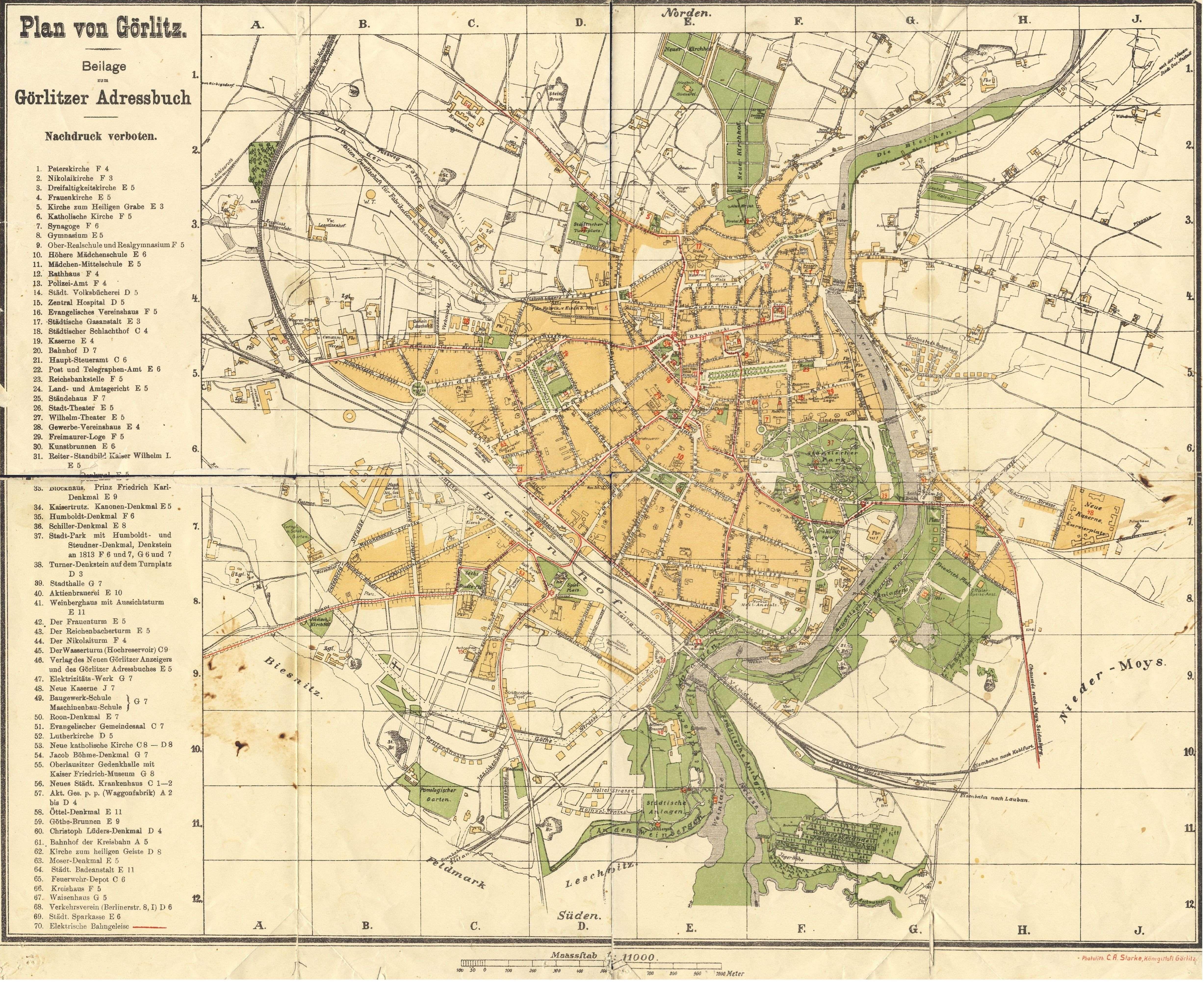 Zgorzelec Gorlitz Mapy Plany Zgorzelec Zdjecia