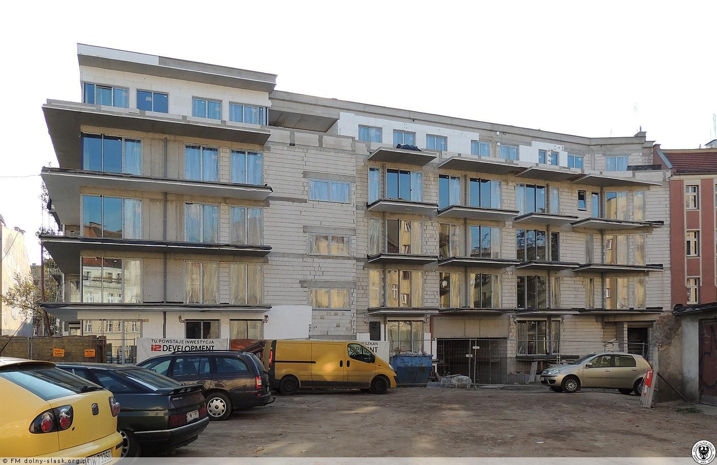 """2013 - 2014 Budowa """"Royal Apartments"""", Wrocław - zdjęcia"""