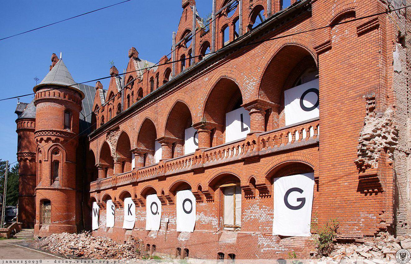 Międzynarodowe Laboratorium Kultury (d. sanatorium Grunwald), ul. Różana, Sokołowsko