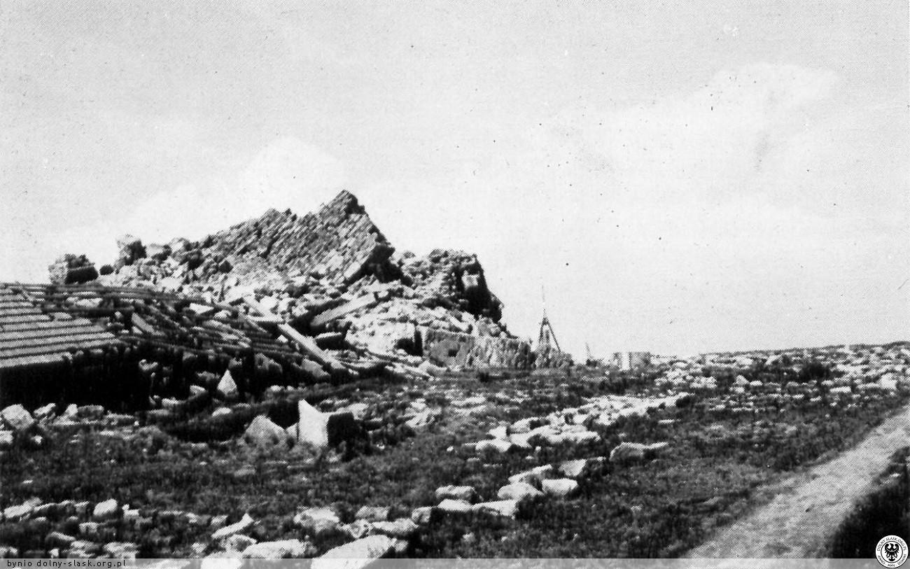 Ruiny wieży (po 1973)