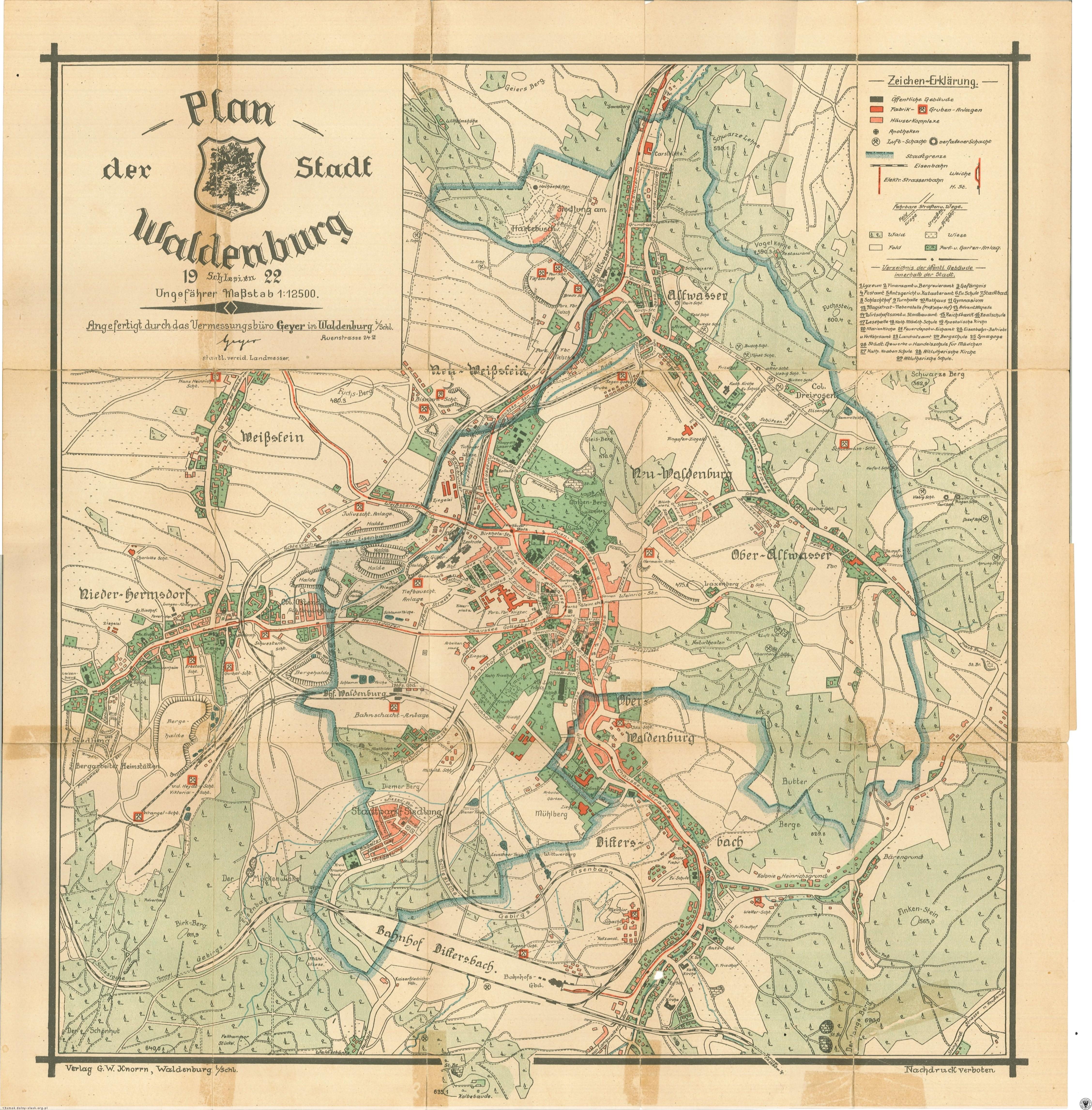 Mapy I Plany Walbrzych Walbrzych Zdjecia