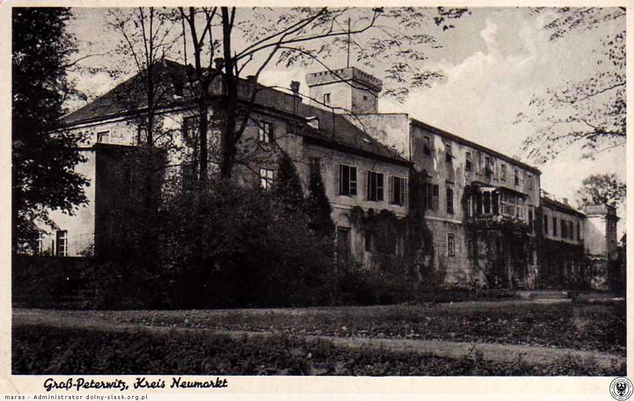 Pałac Piotrowice (dawny), Piotrowice