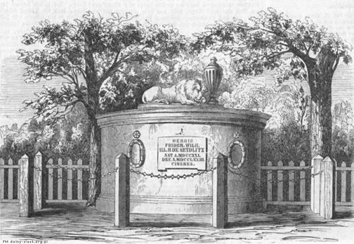 Grobowiec Friedricha Wilhelma von Seydlitz, Minkowskie - zdjęcia