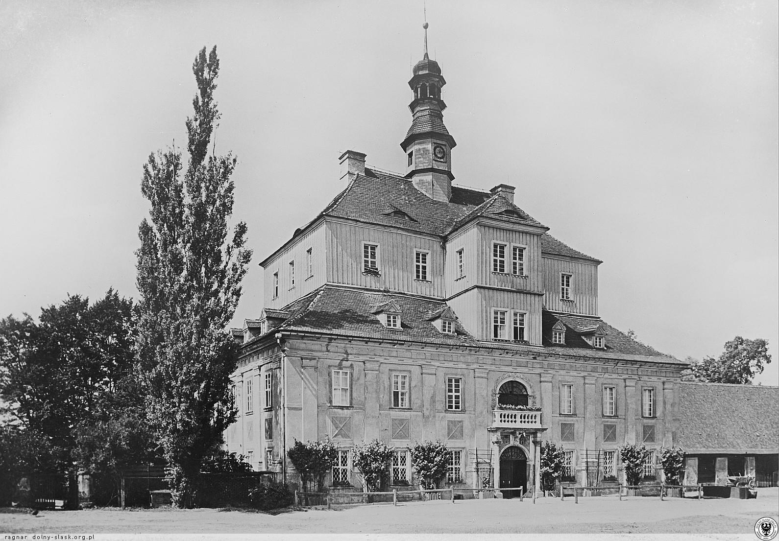 Pałac w Gościszowie (dawny), Gościszów (nie istnieje)