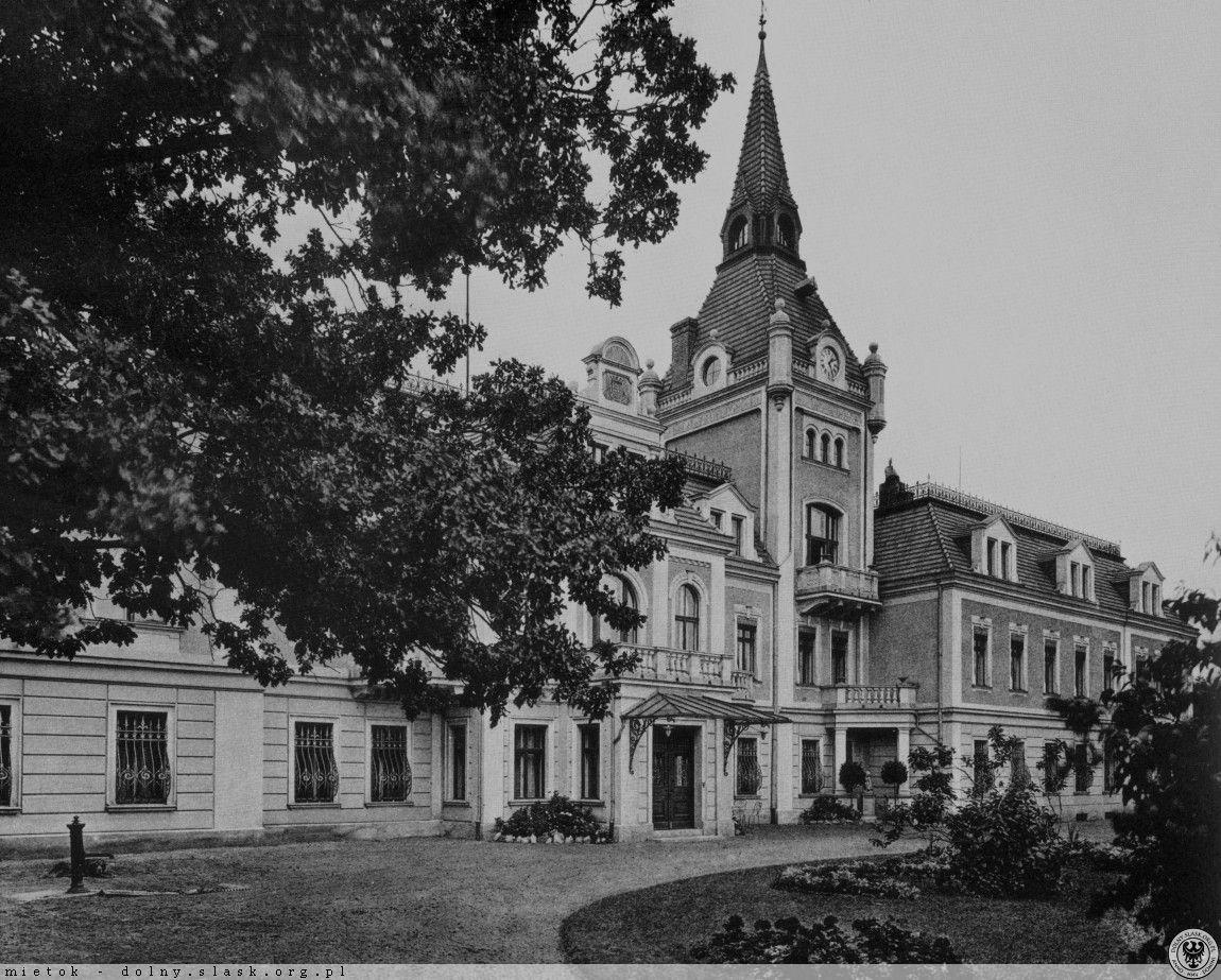 Pałac Wilczków (dawny), ul. Długa, Wilczków