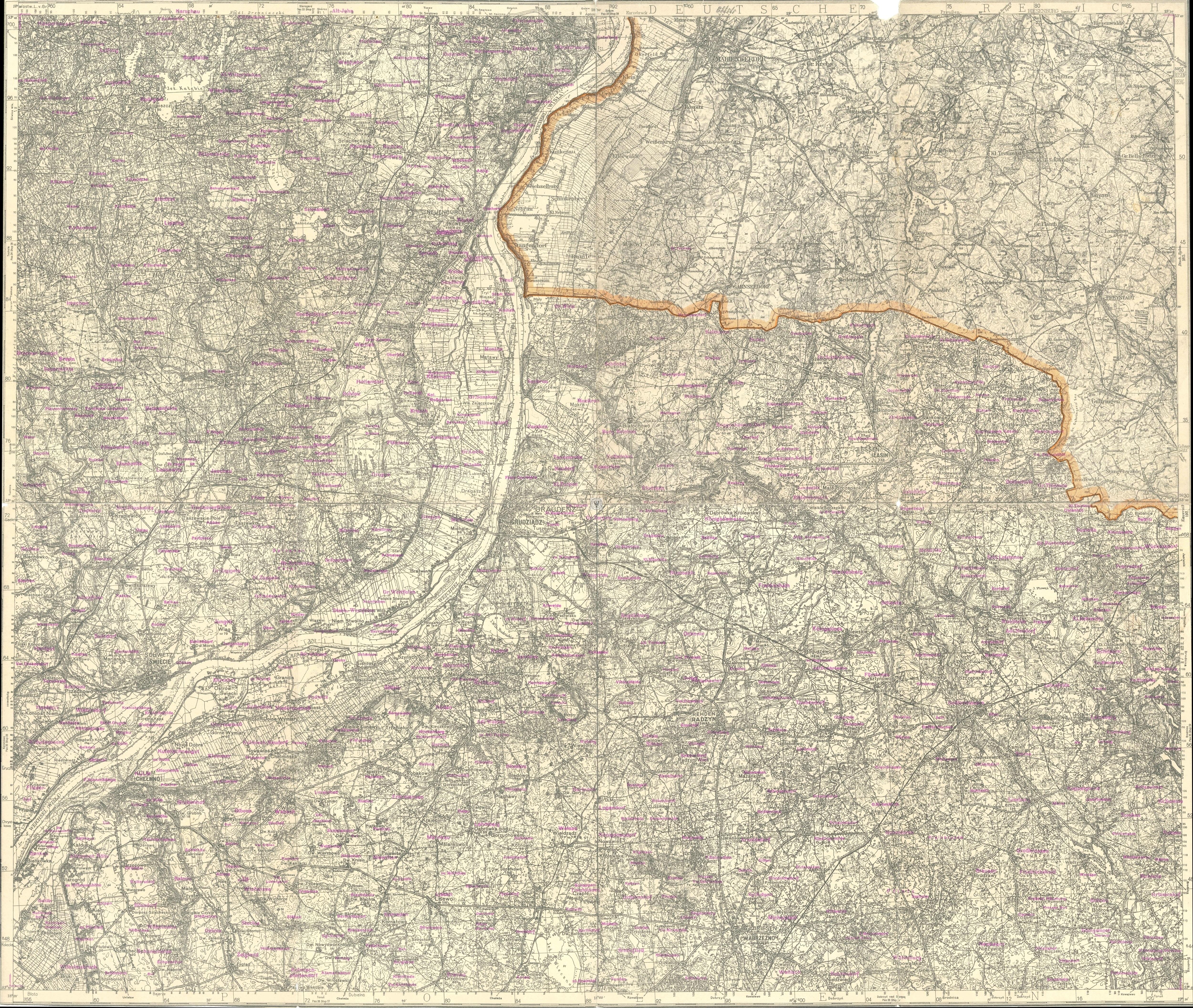 Mapy Regionu Kujawsko Pomorskie Zdjecia