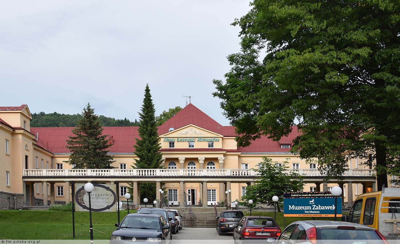 Szpital Uzdrowiskowy Nowe łazienki Mineralne Ul