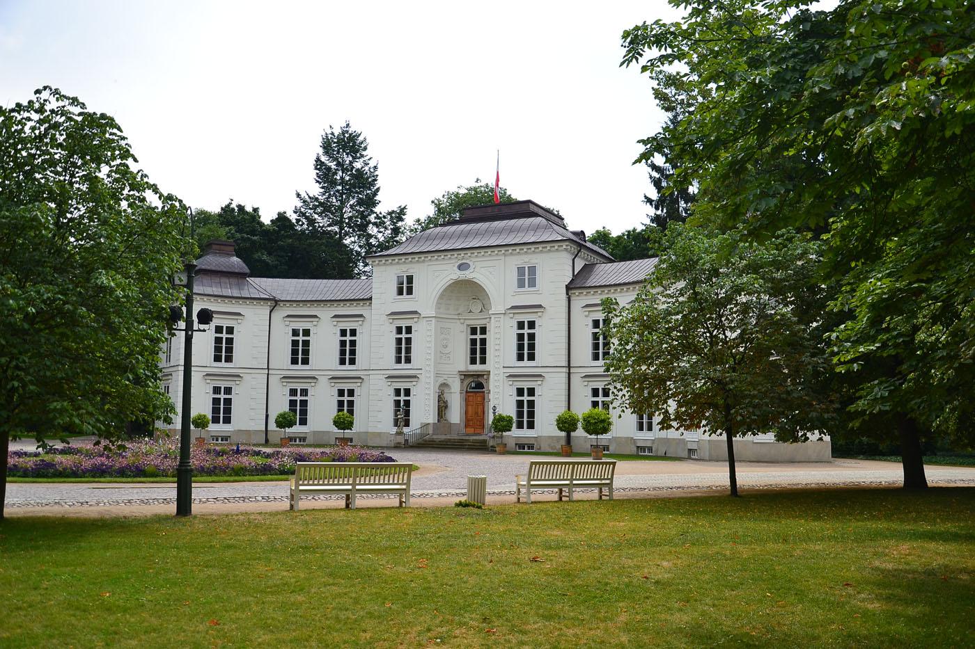 Pałac Myślewicki Warszawa Zdjęcia