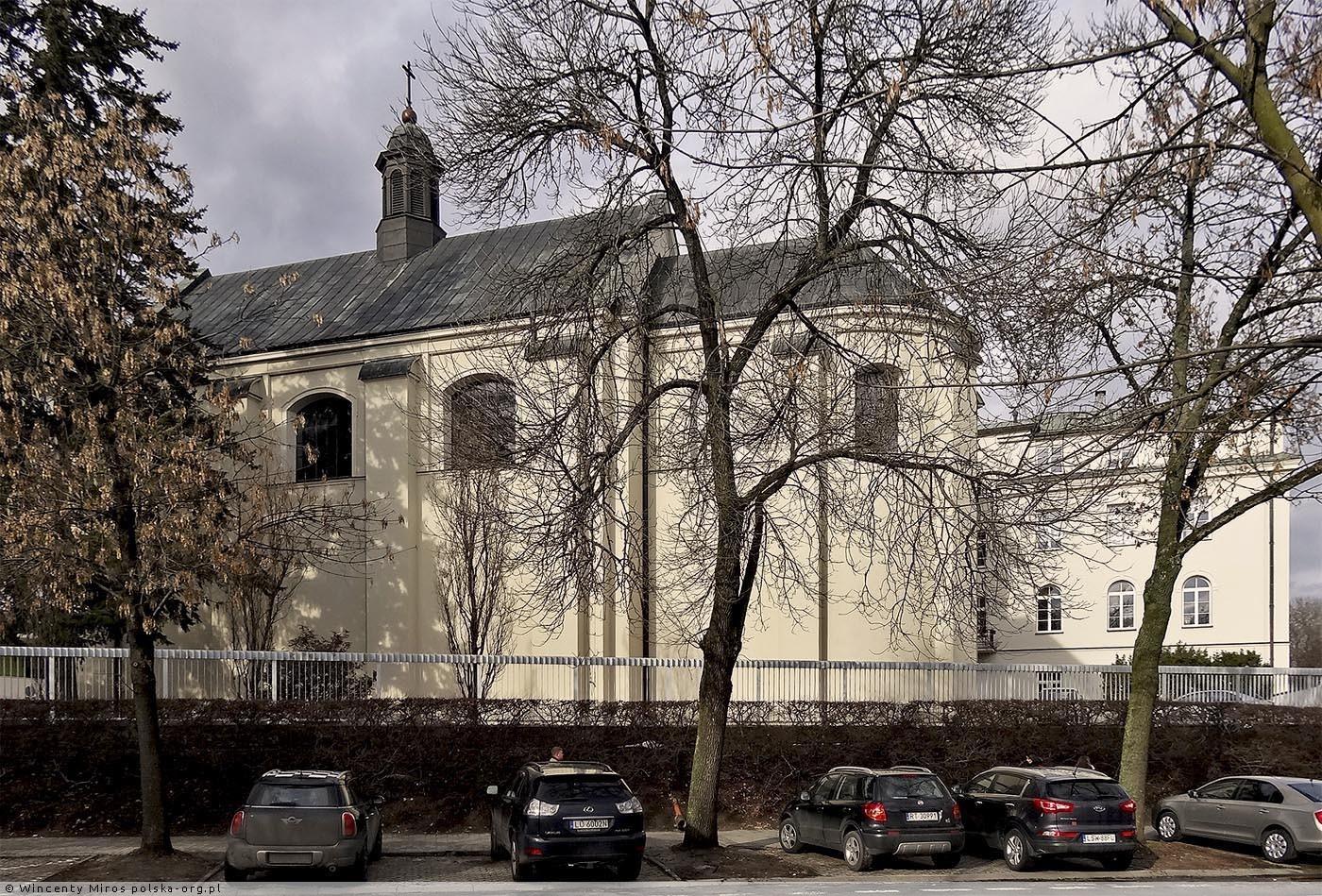 Kościół akademicki Świętego Krzyża, ul. Radziszewskiego