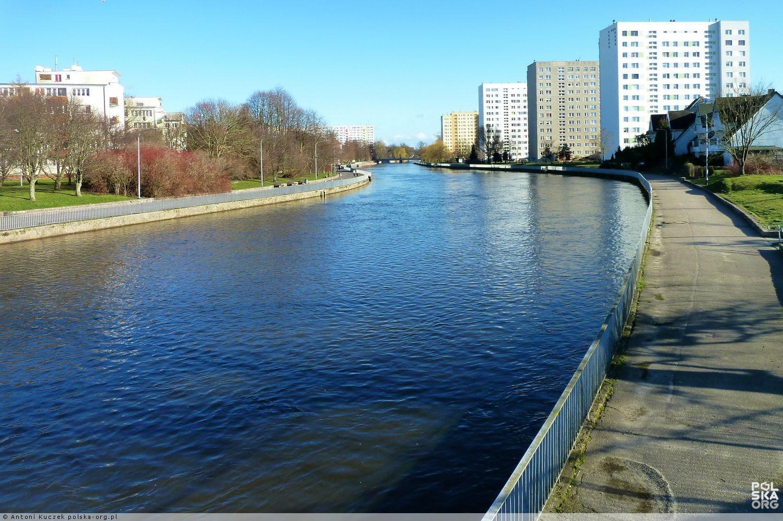 Rzeka Parsęta w Kołobrzegu, Kołobrzeg - zdjęcia