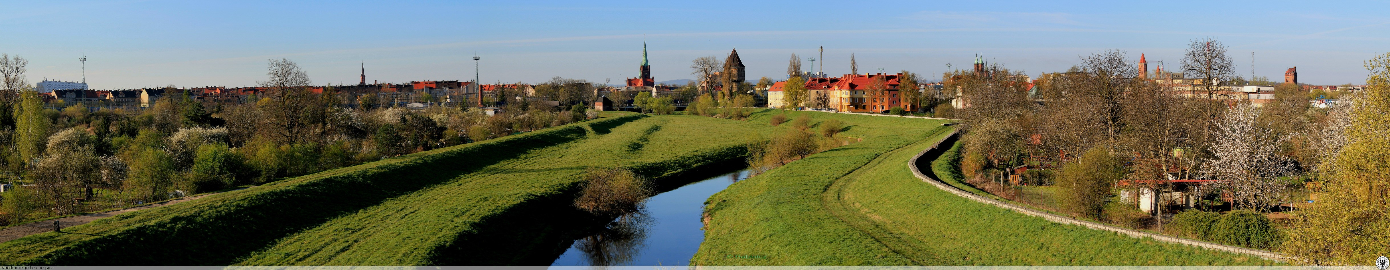 Panoramy Legnicy, Legnica